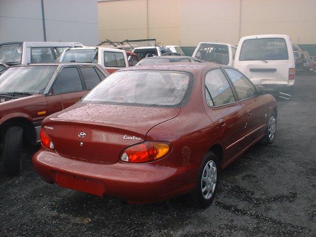 Hyundai Elantra, второе поколение, рестайлинг