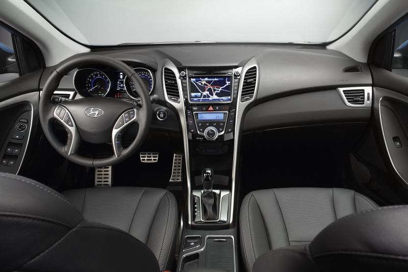 Фото салона новый Hyundai i30