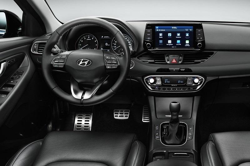 Hyundai i30 3 поколение - салон