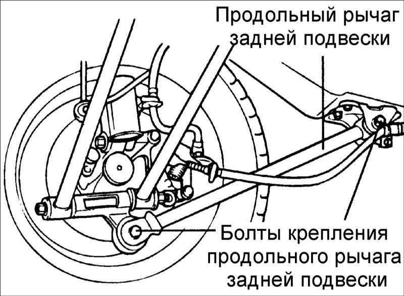 схема подвески на hyundai elantra 3